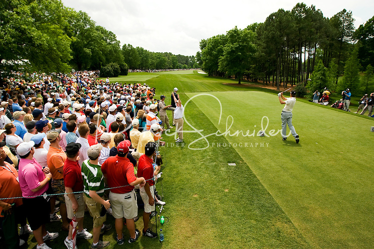 The final round in the Quail Hollow Championship golf tournament at the Quail Hollow Club in Charlotte, N.C., Sunday , May 03, 2009.