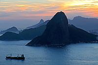 Vista aérea do Pão de Açucar. Rio de Janeiro. 2009. Foto de Ricardo Azoury.