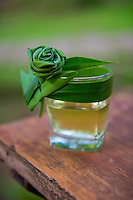 Thailand, Mae Hong Son. Fern Resort. Drink.