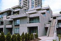 Vancouver: Carrigan Court, Burnaby. In manner of Safdie's Habitat.  Photo '86.