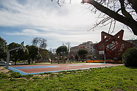 """Villaggio Olimpico. <br /> <br /> Rome, 12/03/2020. Documenting Rome under the Italian Government lockdown for the Outbreak of the Coronavirus (SARS-CoV-2 - COVID-19) in Italy. On the evening of the 11 March 2020, the Italian Prime Minister, Giuseppe Conte, signed the March 11th Decree Law """"Step 4 Consolidation of 1 single Protection Zone for the entire national territory"""" (1.). The further urgent measures were taken """"in order to counter and contain the spread of the COVID-19 virus"""" on the same day when the WHO (World Health Organization, OMS in Italian) declared the coronavirus COVID-19 as a pandemic (2.).<br /> ISTAT (Italian Institute of Statistics) estimates that in Italy there are 50,724 homeless people. In Rome, around 20,000 people in fragile condition have asked for support. Moreover, there are 40,000 people who live in a state of housing emergency in Rome's municipality.<br /> March 11th Decree Law (1.): «[…] Retail commercial activities are suspended, with the exception of the food and basic necessities activities […] Newsagents, tobacconists, pharmacies and parapharmacies remain open. In any case, the interpersonal safety distance of one meter must be guaranteed. The activities of catering services (including bars, pubs, restaurants, ice cream shops, patisseries) are suspended […] Banking, financial and insurance services as well as the agricultural, livestock and agri-food processing sector, including the supply chains that supply goods and services, are guaranteed, […] The President of the Region can arrange the programming of the service provided by local public transport companies […]».<br /> Updates: on the 12.03.20 (6:00PM) in Italy there 14.955 positive cases; 1,439 patients have recovered; 1,266 died.<br /> <br /> Footnotes & Links:<br /> Info about COVID-19 in Italy: http://bit.do/fzRVu (ITA) - http://bit.do/fzRV5 (ENG)<br /> 1. March 11th Decree Law http://bit.do/fzREX (ITA) - http://bit.do/fzRFz (ENG)<br /> 2. http://bit.do/fzRKm"""