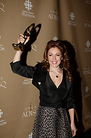 Montreal (Qc) CANADA - October 28 2007-<br /> <br /> Isabelle Boulay , winner female singer and show of the year<br />  (Interprète féminine de l'année et Spectacle de l'année - Interprète)<br /> 2007 ADISQ Gala held at Saint-Denis Theater in Montreal<br /> <br />  Photo (c) 2007 Pierre Roussel- Images Distribution