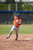 Houston Astros Joe Perez (55) during a Minor League Spring Training Intrasquad game on March 28, 2018 at FITTEAM Ballpark of the Palm Beaches in West Palm Beach, Florida.  (Mike Janes/Four Seam Images)