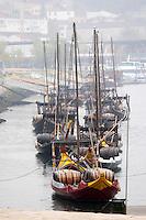 barco rabelo shipping boat av. diogo leite vila nova de gaia porto portugal