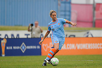 Carolyn Blank (31) of Sky Blue FC. Sky Blue FC and the Boston Breakers played to a 0-0 tie during a Women's Professional Soccer (WPS) match at Yurcak Field in Piscataway, NJ, on June 12, 2011.