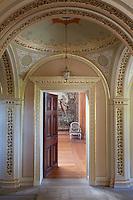 Doorway leading off of the pewter corridor