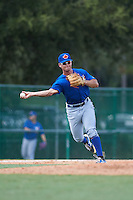 Toronto Blue Jays Carl Wise (1) during an instructional league game against the Atlanta Braves on September 30, 2015 at the ESPN Wide World of Sports Complex in Orlando, Florida.  (Mike Janes/Four Seam Images)