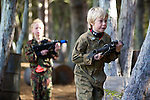Pix: Shaun Flannery/shaunflanneryphotography.com...COPYRIGHT PICTURE>>SHAUN FLANNERY>01302-570814>>07778315553>>..25th September 2010..........Mason, 9th birthday party. .Bawtry Paintball & Laser Field.