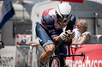 Edward Theuns (BEL/Trek-Segafredo)<br /> <br /> Stage 20 (ITT) from Libourne to Saint-Émilion (30.8km)<br /> 108th Tour de France 2021 (2.UWT)<br /> <br /> ©kramon