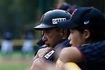 Japan Coach/Tainer Saito Kataaki during the BFA Women's Baseball Asian Cup match between Pakistan and Japan at Sai Tso Wan Recreation Ground on September 4, 2017 in Hong Kong. Photo by Marcio Rodrigo Machado / Power Sport Images