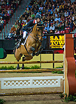 16 April 2009: Ben Maher (GBR) and Robin Hood W at the Rolex World Cup Jumping Final I.