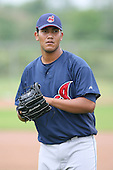 March 20th 2008:  Wilfredo Ramirez of the Cleveland Indians minor league system during Spring Training at Chain of Lakes Training Complex in Winter Haven, FL.  Photo by:  Mike Janes/Four Seam Images