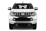 Car photography straight front view of a 2018 Mitsubishi L200 Intense 2 Door Pick Up
