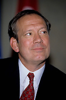 Montreal (Qc) CANADA - 1999 File Photo -<br /> <br /> George Pataki, New-York (state) Governor<br /> <br /> PHOTO :  Agence Quebec Presse - Pierre Roussel
