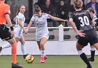 Zenia Mertens (6) of OH Leuven pictured during a female soccer game between Oud Heverlee Leuven and Eendracht Aalst on the second matchday of the 2021 - 2022 season of Belgian Womens Super League , sunday 29 nd of August 2021  in Heverlee , Belgium . PHOTO SPORTPIX.BE   JILL DELSAUX