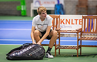 Hilversum, Netherlands, December 2, 2018, Winter Youth Circuit Masters, Sven van Dijk (NED)<br /> Photo: Tennisimages/Henk Koster