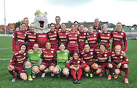 20130824 - Zulte , Belgium : Ploegfoto Zulte Waregem Dames , 1e nationale seizoen 2013 - 2014 , Saturday 24 August 2013. Teampictures <br /> PHOTO DAVID CATRY / Nikonpro.be