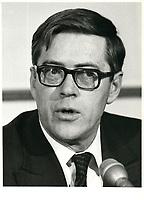 Jack mcLeod, Chairman,Canadian Association of Petroleum, March 9, 1981<br /> <br /> PHOTO : Agence Quebec Presse