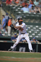 Baltimore Orioles shortstop Richie Martin (82) during a Grapefruit League Spring Training game against the Tampa Bay Rays on March 1, 2019 at Ed Smith Stadium in Sarasota, Florida.  Tampa Bay defeated Baltimore 10-5.  (Mike Janes/Four Seam Images)