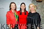 Mairéad Kennedy, Medeline McCarthy and Órlaith Griffin enjoying the evening in Bella Bia on Thursday.