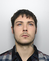Pictured: Police custody picture of Sam James<br />