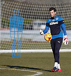 Rangers keeper Cammy Bell at training