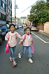 Heading To School