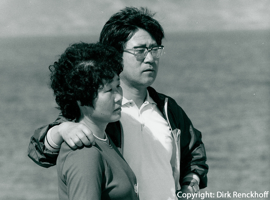 Am Strand in Yosu, Korea 1986