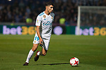 Real Madrid Achraf Hakimi during Copa del Rey match between Fuenlabrada and Real Madrid at Fernando Torres Stadium in Madrid, Spain. October 26, 2017. (ALTERPHOTOS/Borja B.Hojas)