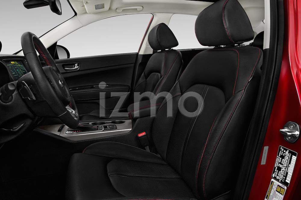 Front seat view of 2018 KIA Optima SX 4 Door Sedan Front Seat  car photos