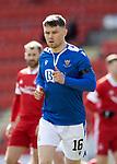 St Johnstone v Aberdeen…10.04.21   McDiarmid Park   SPFL<br />Glenn Middleton<br />Picture by Graeme Hart.<br />Copyright Perthshire Picture Agency<br />Tel: 01738 623350  Mobile: 07990 594431
