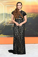 """Katherine Langford<br /> arriving for the """"Once Upon a Time... in Hollywood"""" premiere, Leicester Square, London<br /> <br /> ©Ash Knotek  D3514  30/07/2019"""