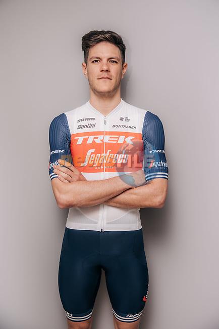 Jasper Stuyven (BEL) part of the Trek–Segafredo 2021 mens team.<br /> Picture: Jojo Harper/Trek Factory Racing   Cyclefile<br /> <br /> All photos usage must carry mandatory copyright credit (© Cyclefile   Jojo Harper/Trek Factory Racing)