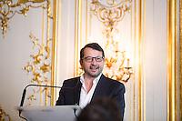 DAVID MELKI (DG FRANCE OCCITANE) - CONFERENCE DE PRESSE 'LA FLAMME MARIE-CLAIRE' 2016