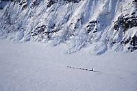 Bill Pinkham on Yukon River Near Nulato