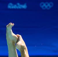 RUS - Russian Federation<br /> ISHCHENKO Natalia ROMASHINA Svetlana <br /> Duets Free<br /> Rio de Janeiro 14-08-2016 Maria Lenka Aquatics Center  <br /> Synchronised Swimming <br /> Nuoto Sincronizzato <br /> Foto Andrea Staccioli / Deepbluemedia /Insidefoto