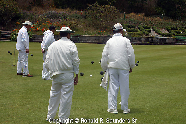 Modern bocci (or bocce) ball originated in Italy and is the oldest lawn-bowling game. It is played by two teams, ranging from one to eight people a team.