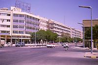 Kuwait October 1966.  Fahad as-Salem Street, Mid-day.