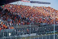 3rd September 2021: Circuit Zandvoort, Zandvoort, Netherlands;  Dutch Fans in the stands Formula 1 Dutch Grand Prix