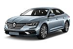 2021 Renault Talisman Intens 4 Door Sedan Angular Front automotive stock photos of front three quarter view