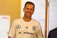 Manager der Nationalmannschaft Oliver Bierhoff (Deutschland Germany) kommt zur Pressekonferenz - 16.06.2017: Pressekonferenz der Deutschen Nationalmannschaft, Radisson BLU Hotel Sotschi