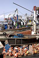 Fishing boats, Tema, Ghana..Photograph by Peter E. Randall