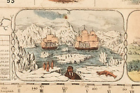 BNPS.co.uk (01202 558833)<br /> Pic: DominicWinter/BNPS<br /> <br /> Travelling through the Antarctic.<br /> <br /> It's Wokopoly..<br /> <br /> A rare Victorian board game celebrating the might of the British Empire has emerged for sale - and it is sure to trigger the woke brigade.<br /> <br /> The World Map Board Game was produced in the aftermath of the successful World Exhibition held at Crystal Palace in 1851 to help Brits learn more about its 80-odd foreign territories.<br /> <br /> These are referred to as Britain's 'possessions' and there are images of tiger-hunting in India and Australian aborigines.