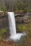 South Falls features a trail winding behind the waterfall, Silver Falls State Park, Oregon