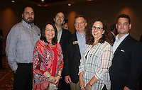 NWA Democrat-Gazette/CARIN SCHOPPMEYER Jason Hescott (from left), Melissa Berryhill, Rich Feitler, John Meyer, Eleanora Lawson and Matt Chambers.