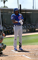 Jordan Nwogu - Chicago Cubs 2021 spring training (Bill Mitchell)