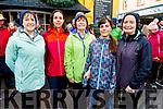 Bridget Riardon, Sinead Perfect, Angela and Amel Sebak and Geraldine Riardon attending the Bill Kirby Memorial Walk fundraiser for the Kerry Hospice on St Stephens morning.