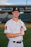 Jackson Generals Pavin Smith (13) poses for a photo before a Southern League game against the Mississippi Braves on July 23, 2019 at The Ballpark at Jackson in Jackson, Tennessee.  Jackson defeated Mississippi 2-0 in the first game of a doubleheader.  (Mike Janes/Four Seam Images)