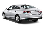 Car pictures of rear three quarter view of a 2020 Chevrolet Malibu LT 4 Door Sedan angular rear