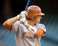 NCAA Baseball featuring the Texas Longhorns against the Missouri Tigers. Lusson, Kyle 4189  at the 2010 Astros College Classic in Houston's Minute Maid Park on Sunday, March 7th, 2010. Photo by Andrew Woolley